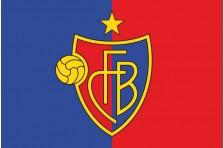 Флаг футбольного клуба «Базель». Вариант-1