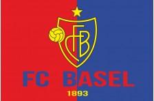 Флаг футбольного клуба «Базель». Вариант-2