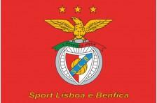 Флаг футбольного клуба «Бенфика». Вариант-2