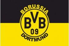 Флаг футбольного клуба «Боруссия» Дортмунд. Вариант-1