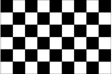 Флаг клетчатый «ФИНИШ»