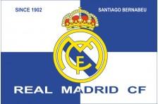 Флаг футбольного клуба «Реал Мадрид». Вариант-1
