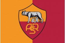Флаг футбольного клуба «Рома». Вариант-1
