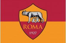 Флаг футбольного клуба «Рома». Вариант-2