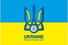 Флаг Сборной Украины по футболу. Вариант-3