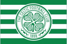 Флаг футбольного клуба «Селтик». Вариант-2