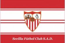 Флаг футбольного клуба «Севилья». Вариант-2