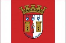 Флаг футбольного клуба «Спортинг» Брага. Вариант-2