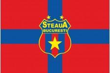 Флаг футбольного клуба «Стяуа» Бухарест. Вариант-2