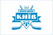 "Флаг Школа хоккея ""Киев"". Вариант–2"