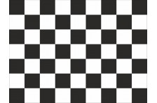 Флаг гоночный - КЛЕТЧАТЫЙ «Финиш»
