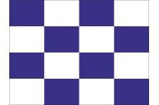 Флаг МСС. Буквенный флаг «N, November, Новембер»
