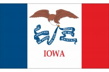 Флаг штата Айова США