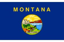 Флаг штата Монтана США