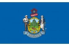 Флаг штата Мэн США