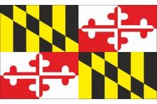 Флаг штата Мэриленд США