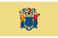 Флаг штата Нью-Джерси США