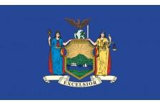 Флаг штата Нью-Йорк США