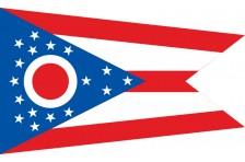 Флаг штата Огайо США