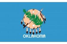 Флаг штата Оклахома США