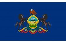 Флаг штата Пенсильвания США
