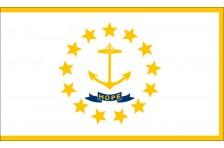 Флаг штата Род-Айленд США