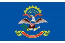 Флаг штата Северная Дакота США