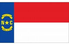 Флаг штата Северная Каролина США