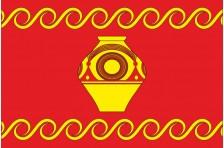 Прапор Колибаївської ОТГ Кам'янець-Подільського району Хмельницької області України