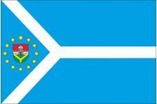 Прапор Меджибізької ОТГ Летичівського району Хмельницької області України