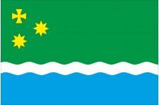 Прапор Івановської ОТГ Чернігівського району Чернігівської області України