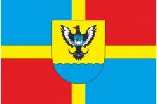 Флаг Чудновского района Житомирской области Украины