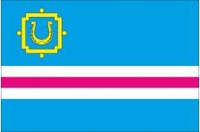Флаг Чутовского района Полтавской области Украины