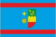 Флаг Шаргородского района Винницкой области Украины