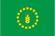 Флаг Шосткинского района Сумской области Украины