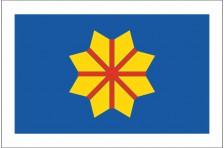 Флаг села Богдановка Броварского района Киевской области Украины