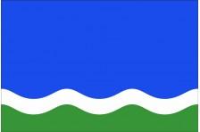 Флаг села Гавронщина Макаровского района Киевской области Украины