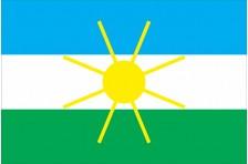 Флаг села Ясногородка Макаровского района Киевской области Украины
