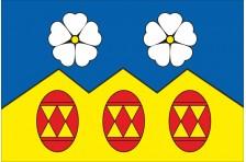 Флаг села Акрешоры Косовского района Ивано-Франковской области Украины