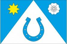 Флаг села Воронов Городенковского района Ивано-Франковской области Украины