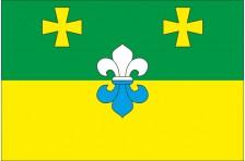 Флаг села Выбли Куликовского района Черниговской области Украины