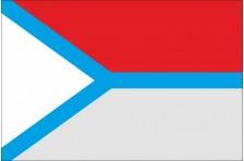 Флаг села Бобрица Киево-Святошинского района Киевской области Украины