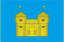 Флаг села Андреевка Макаровского района Киевской области Украины