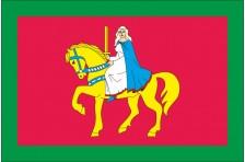 Флаг села Великоселецкое Оржицкого района Полтавской области Украины