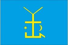 Флаг села Вольная Тарасовка Белоцерковского района Киевской области Украины