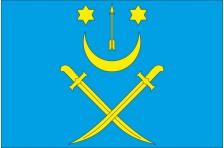 Флаг села Бачина Старосамборского района Львовской области Украины
