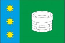 Флаг села Великое Колодно Каменка-Бугского района Львовской области Украины