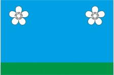 Флаг села Яблоновка Макаровского района Киевской области Украины