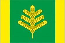 Флаг села Боровка Макаровского района Киевской области Украины