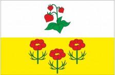 Флаг села Ягодное Купянского района Харьковской области Украины